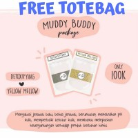[FREE TOTEBAG] MUDDYBUDDY DETOXIFYING/YELLOW MELLOW