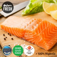 NatureFresh Ikan Salmon Atlantik Fillet Kualitas Premium 200gr Norway