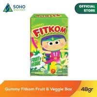 Fitkom Gummy Jelly Fruit & Veggie - 48g