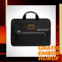 Tas TUMI Laptop Case Chris Pratt GRATIS EMBOS HURUF