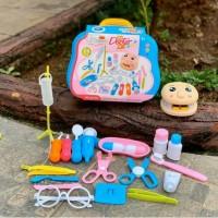 Edisi Kedua - Kado Mainan Anak Koper Dokter Gigi / Dentist Set Toys