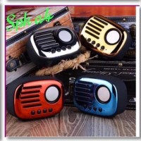 Speaker Bluetooth A4 Retro Klasik