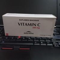 vitamin c 250mg kimia farma isi 100tablet