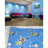 Wallpaper Sticker Doraemon Nobita Dorami