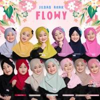 Jilbab Anak FLOWY MiuLan | Kerudung Bergo Jersey Lucu
