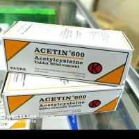 acetin tablet 600mg per tube