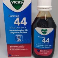 vicks formula 44 Sirup obat batuk tidak berdahak / kering 100ml