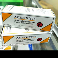 Acetin tablet 600mg