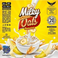 MILKY OATS BANANA 60 ML BY PATRIOT27