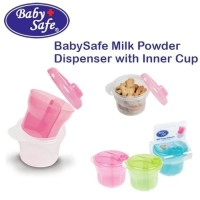 Baby Safe Milk Powder Dispenser with Inner Cup / Tempat susu bubuk/Tem