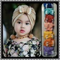 Turban RENDA POM turban bayi turban anak hijab bayi