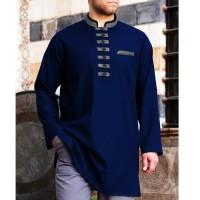Baju koko akthar agam lengan panjang tersedia 4 warna - Navy, S