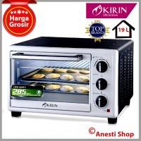 [PROMO] KIRIN KBO-190LW Oven Listrik 19 L - Low Watt 570 Watt