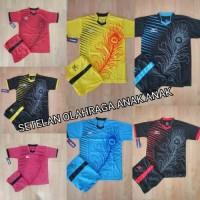 baju olahraga anak SD kaos Futsal Kids jersey bola junior