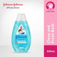 JOHNSON'S Active Kids Clean Fresh Bath 200ml