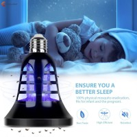 Mosquito Bug Trap Electric Insect Killer Zapper LED Night Light for