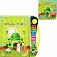 Mainan Ebook muslim 3 bahasa - Buku pintar Tab playpad edukasi anak