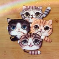 Aksesoris Fashion Anak: Dompet Koin Perempuan Desain Kartun Kucing