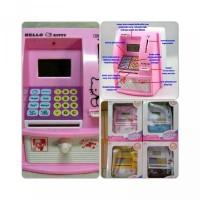 Mainan ATM Bank Mainan Edukasi Anak ATM Mini Bank Celengan Anak