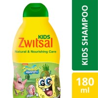 Zwitsal Kids Shampoo Green Natural & Nourishing Care 180ml
