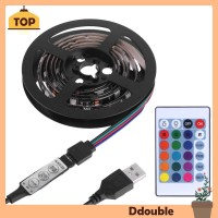 Ddou Computer Case Balight USB 5050 LED Strip Blaboard 24 Keys IR TG