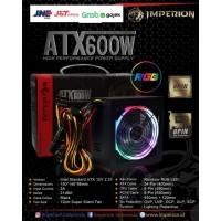 Imperion Power Supply P600 600W LED VGA 8 Pin RGB