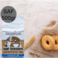 Ragi Kering SAF Instant 500Gr Instant Dry Yeast Roti Donut Donat