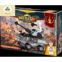 Mainan Lego City Series MURAH Battleship - Tank