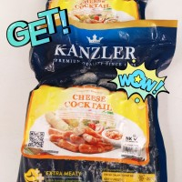 Sosis cocktail Kanzler Cheese 500 gr