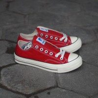 Sepatu Ventela 70s Low Red Original Made In Indonesia - 36