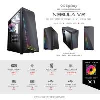 CASING INFINITY NEBULA V2 (INCLUDED 1PCS FAN RAINBOW)