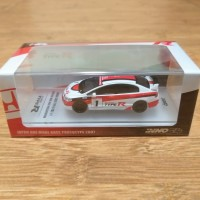 Diecast Inno64 Inno Models Honda Civic Type R FD2 No 1 Japan Prototype