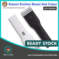 Xiaomi Enchen Boost Alat Cukur Rambut Hair Clipper Ceramic Trimmer - Hitam