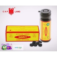 Norit Activated Carbon (Botol isi 40 tablet)