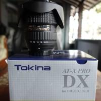 Tokina 11-16mm F 2.8 AT-X 116 Pro DX II for Nikon + Filter Hoya
