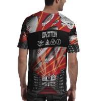 Led Zeppelin Tshirt Kaos Keren SKU05