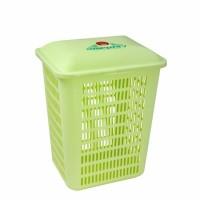 Keranjang Pakaian Baju ALVANA GREENLEAF 1515/ Laundry Basket Pakaian