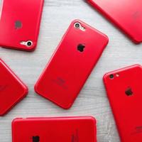 RED CASE IPHONE 5/5s 6/6s 6s plus /6plus 7/7plus