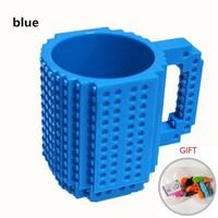 Gelas Mug Lego / Gelas Puzzle / Gelas Brick