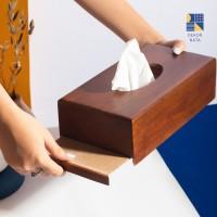 Walnut Tissue Box / Tisu Box Kayu / Tempat Tissue / Kotak Tisu Kayu