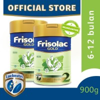 Frisolac Gold 2 Susu Formula Bayi 6-12 Bulan 900g [2 pcs]