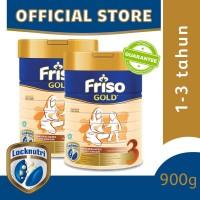 Friso Gold 3 Susu Formula Anak 1-3 Tahun 900g [2 pcs]