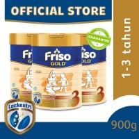 Friso Gold 3 Susu Formula Anak 1-3 Tahun 900g [3 pcs]