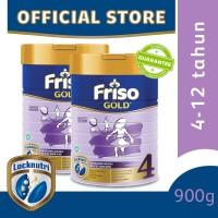 Friso Gold 4 Susu Formula Anak 4-12 Tahun 900g [2 pcs]