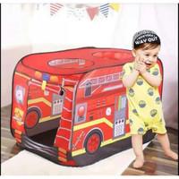 Mainan Tenda Anak Murah Kemping Model Candy Car