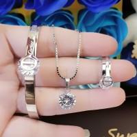 titanium set perhiasan dewasa 1d11