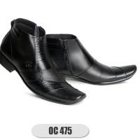 OC_ Sepatu Formal Kulit OC-475 Asli 100% Kulit Berkualitas sepatu pria