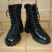 sepatu boots pdh polisi polri tni security pantofel