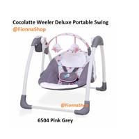 Bouncer Ayunan listrik otomatis Cocolatte Weeler Deluxe Portable Swing