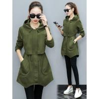 Jacket zipper thalia army [Outwear 0141] TFA